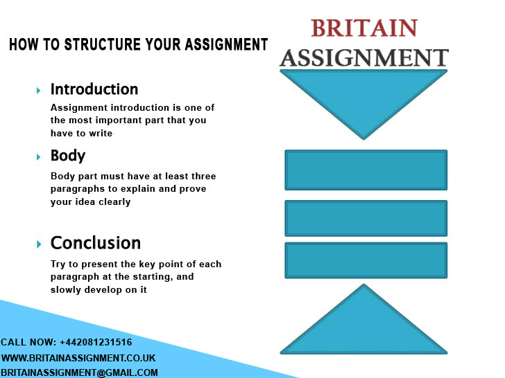 How To Structure Your Assignment